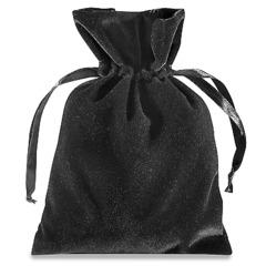 5'' x 7'' Black Deluxe Velvet Pouche