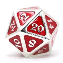 DIE HARD DICE: D20 MYTHICA PLATINUM RUBY