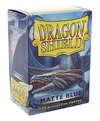 Dragon Shield: Matte Blue