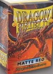 Dragon Shield : Matte Red