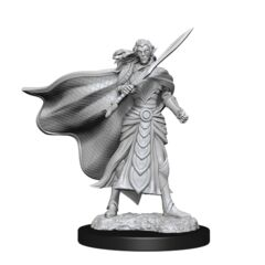 MAGIC THE GATHERING  -  ELF FIGHTER AND CLERIC