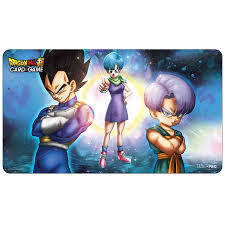 Dragon Ball Playmat:  Bulma, Vegeta, and Trunks
