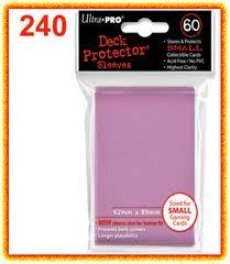 UP DP YGO Solid Pink 60ct
