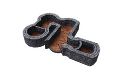 WARLOCK TILES  -  TOWN & VILLAGE  # III  -  ANGLES AND CURVES EXPANSION