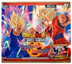 Dragon Ball Super - TB02 - World Martial Art Tournament  Booster Box