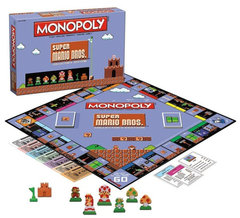 MONOPOLY - SUPER MARIO BROS COLLECTOR'S EDITION