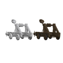 Pathfinder Battles Unpainted Minis - Catapult