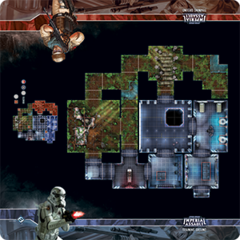 Imperial Assault:Training Ground playmat