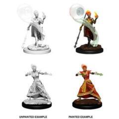 Nolzur's Marvelous Miniatures - Fire Genasi Female Wizard