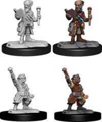 DND UNPAINTED MINIS WV14 GNOME ARTIFICER MALE