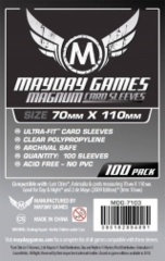 Mayday - Magnum Card Sleeves 70Mm X 110Mm 100Ct