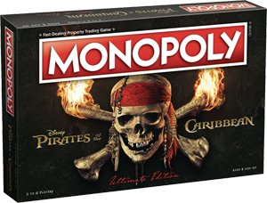 Monopoly: Pirates Of The Caribbean