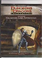 DUNGEONS & DRAGONS ENCOUNTERS: UNDERMOUNTAIN HALASTERS LOST APPRENTICE
