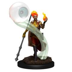 DUNGEONS & DRAGONS 5  -  ICONS OF THE REALMS  -  FEMALE FIRE GENASI WIZARD