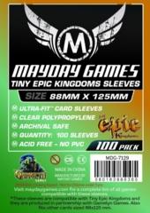 Mayday - Standard Tiny Epic Kingdom Sleeves 88Mm X 125Mm 100Ct