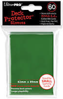 UP DP YGO Solid Green 60ct