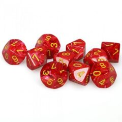 Vortex Poly D10 Red/Yellow (10) CHX 27244