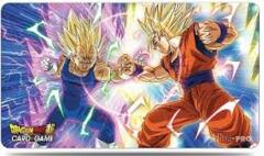 Drragon Ball Playmat: Vegeta VS Goku