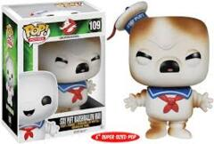 POP: STAY PUFT MARSHMALLOW MAN (TOASTED)