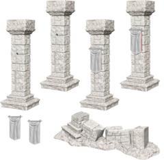 Pathfinder Battles Unpainted Minis - Pillars & Banners