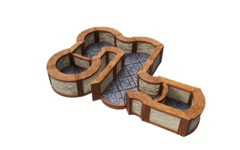 WARLOCK TILES  -  TOWN & VILLAGE  -  ANGLES AND CURVES EXPANSION