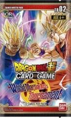 Dragon Ball Super - TB02 - World Martial Art Booster Pack