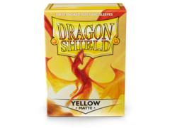 Dragon Shield: Matte Yellow