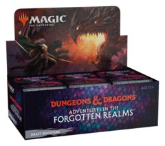 MTG - ADVENTURES IN THE FORGOTTEN REALMS - DRAFT BOOSTER BOX - 36 BOOSTERS