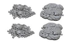 Pathfinder Battles Unpainted Minis - Pile of Bones & Entrails