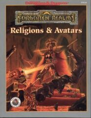 AD&D -FORGOTTEN REALMS RELIGIONS & AVATARS - FRANCAIS