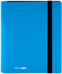 4-POCKET PRO-BINDER 20 PAGES FOR 160 CARDS: SKY BLUE
