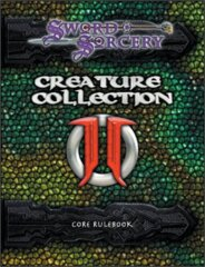SWORD & SORCERY - CREATURE COLLECTION DARK MENAGERIE 2 CORE RULEBOOK - ENGLISH