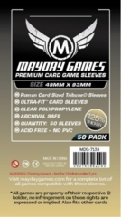 Mayday - Premium Card Sleeves 49Mm X 93Mm 50Ct