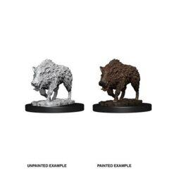 Pathfinder Battles Unpainted Minis - Wild Boar