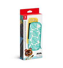 Coque et Protecteur d'écran Switch Lite Animal Crossing