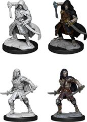 DND UNPAINTED MINIS WV14 WARFORGED ROGUE