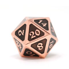 DIE HARD: D20 MYTHICA COPPER ONYX