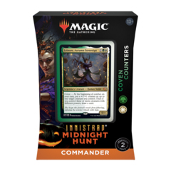 INNISTRAD MIDNIGHT HUNT - COMMANDER DECK - COVEN COUNTERS
