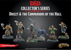 DUNGEONS & DRAGONS  -  COLLECTOR'S SERIES  -  DRIZZT AND THE COMPANIONS OF THE HALL