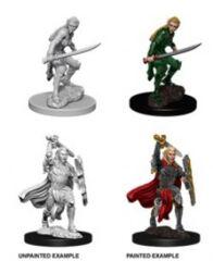 Nolzur's Marvelous Miniatures - Female Elf Fighter