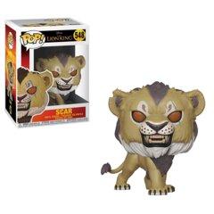 POP - DISNEY - THE LION KING LIVE ACTION - SCAR - 548