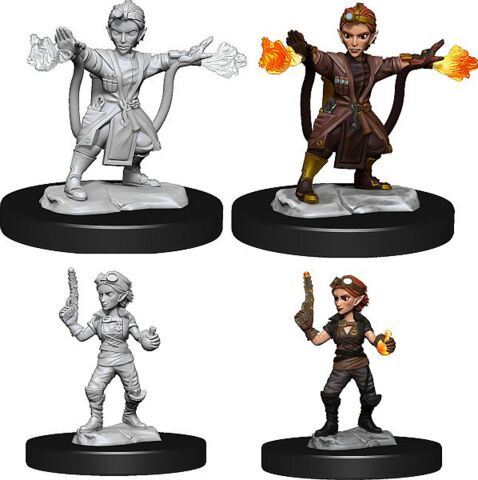 DND UNPAINTED MINIS WV14 GNOME ARTIFICER FEMALE
