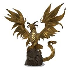 DARKLANDS RISING  -  MENGKARE, GREAT WYRM GOLD DRAGON
