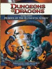 DUNGEONS & DRAGONS 4: HEROES OF THE ELEMENTAL CHAOS