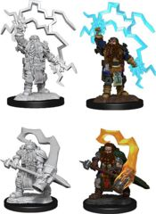 DND UNPAINTED MINIS WV14 DWARF CLERIC MALE