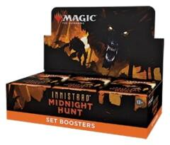 MAGIC THE GATHERING - INNISTRAD MIDNIGHT HUNT - SET BOOSTER BOX