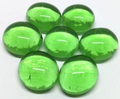 Tube de marqueurs en verre vert pâle