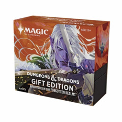 MAGIC THE GATHERING  -  ADVENTURES IN THE FORGOTTEN REALMS  -  BUNDLE GIFT EDITION