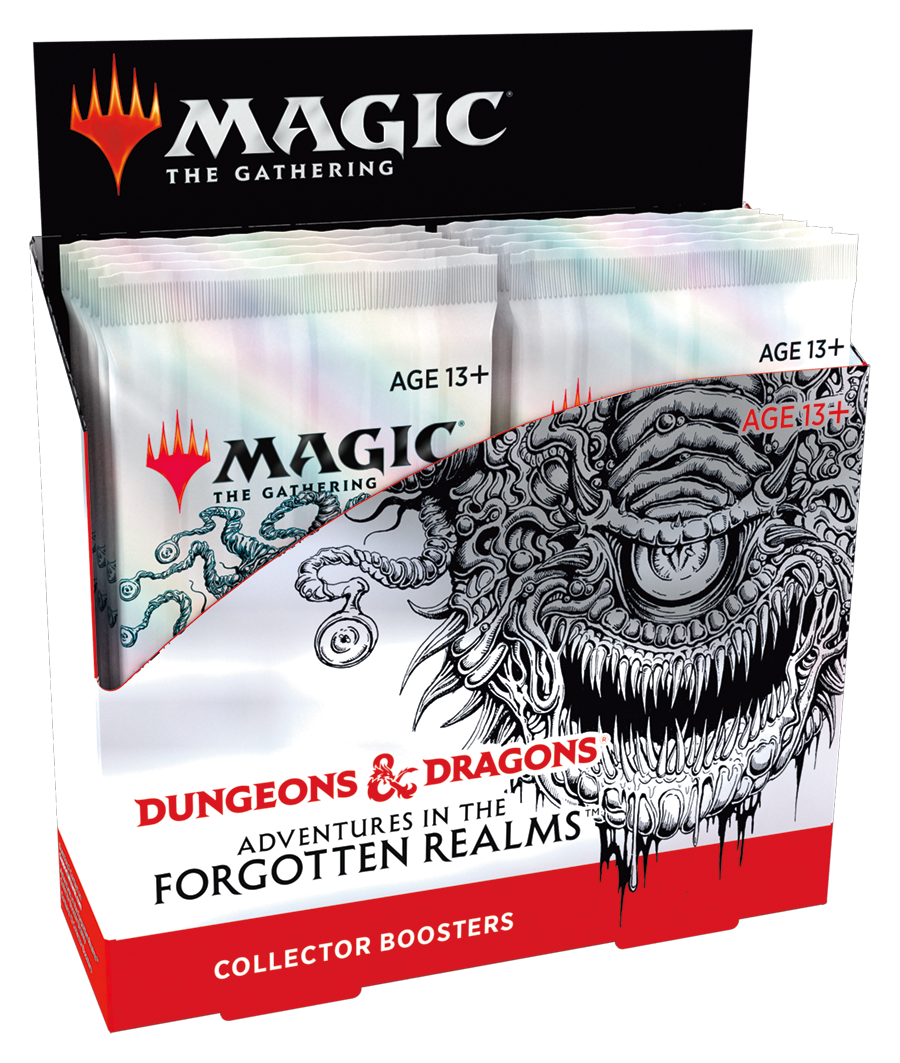 MTG - ADVENTURES IN THE FORGOTTEN REALMS - COLLECTOR BOOSTER BOX - 12 BOOSTERS