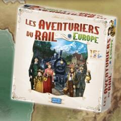 AVENTURIERS DU RAIL  -  EUROPE - ÉDITION 15E ANNIVERSAIRE
